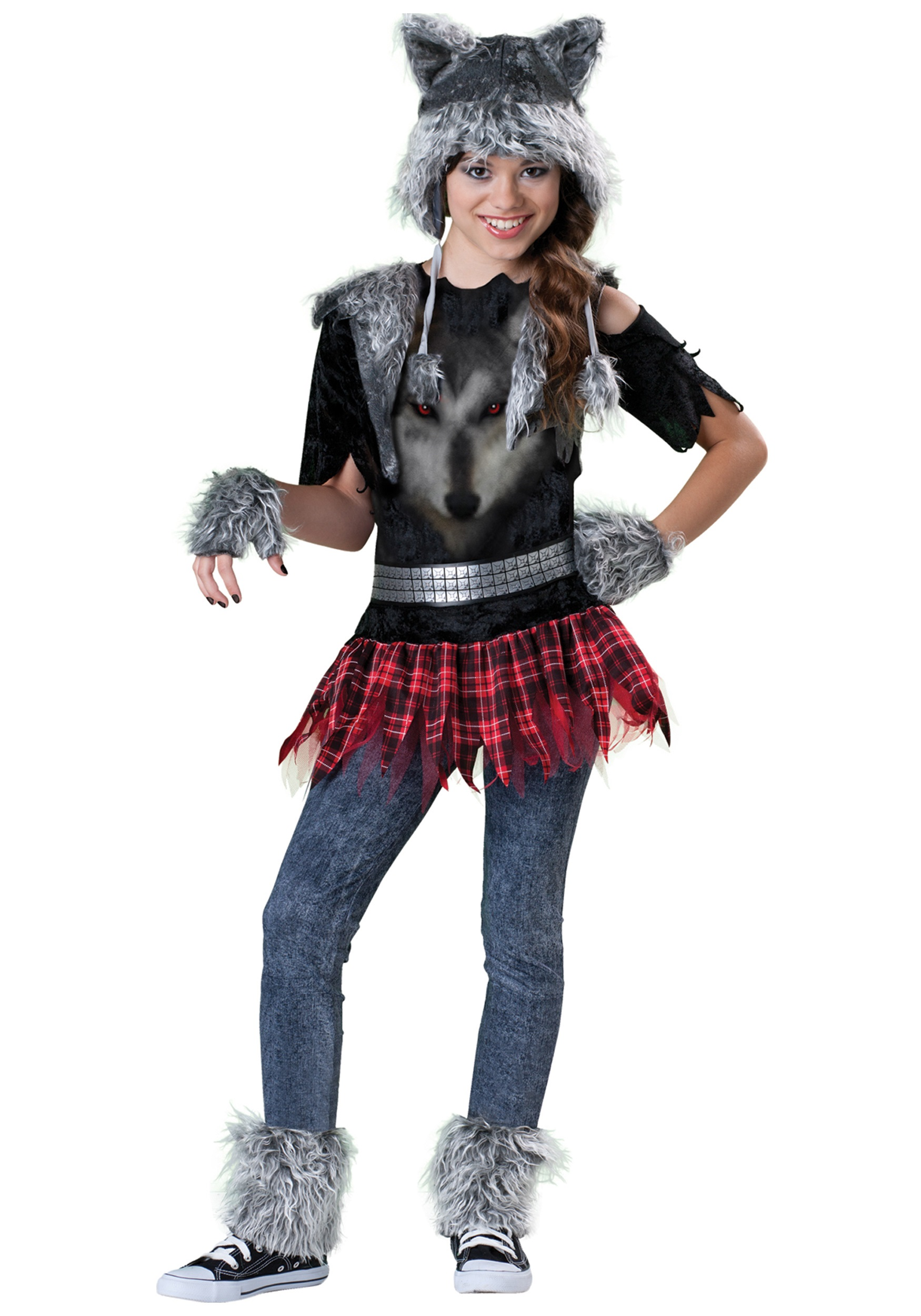 Tween werewolf costume for Cool halloween costumes for kids girls