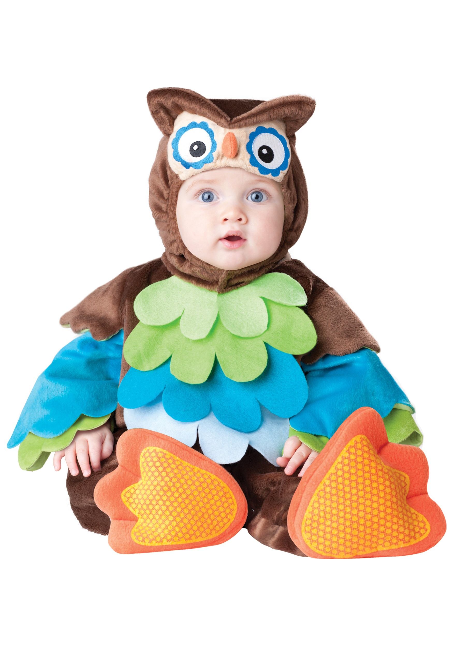 infant hoot owl costume. Black Bedroom Furniture Sets. Home Design Ideas