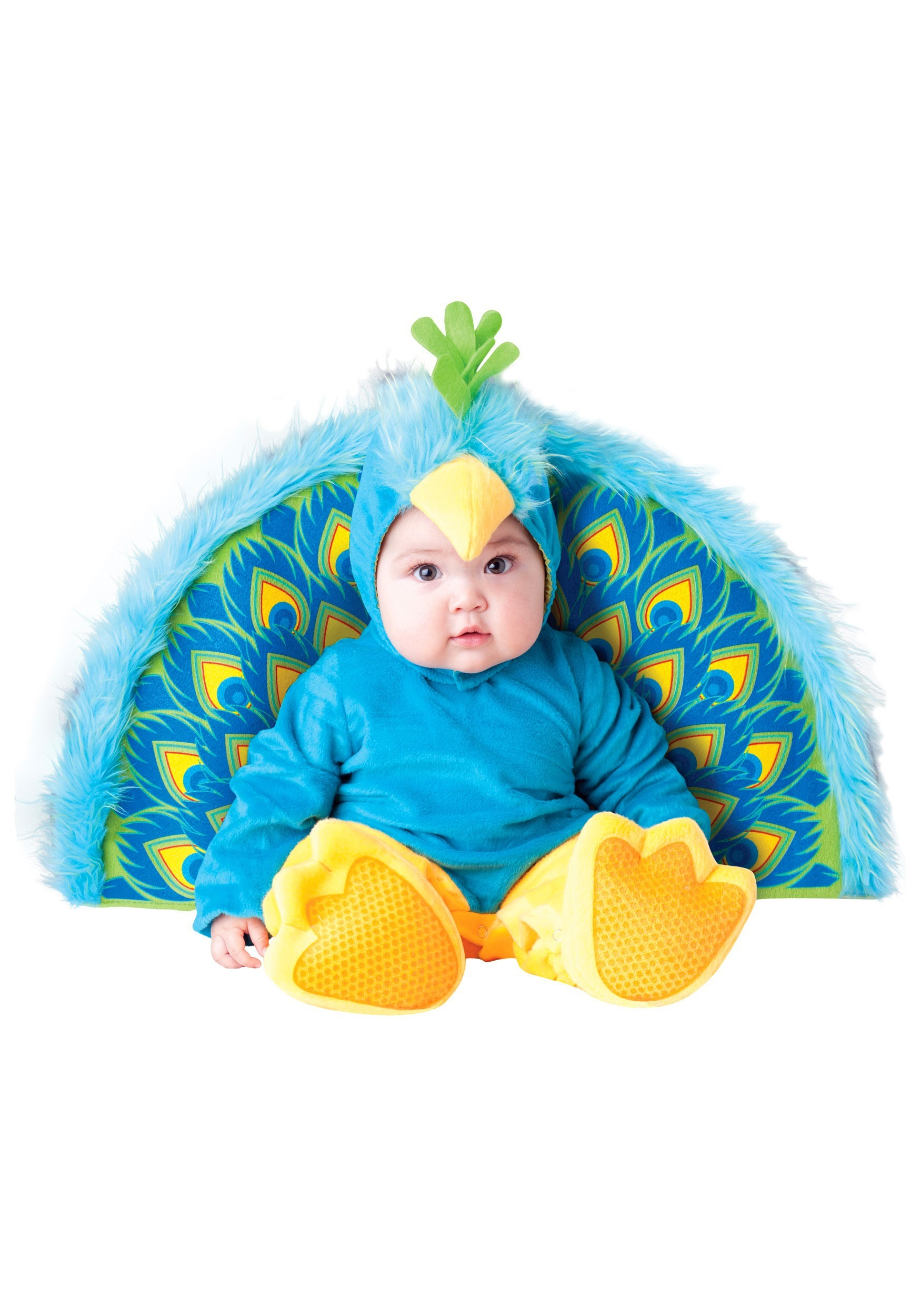 infant precious peacock costume. Black Bedroom Furniture Sets. Home Design Ideas