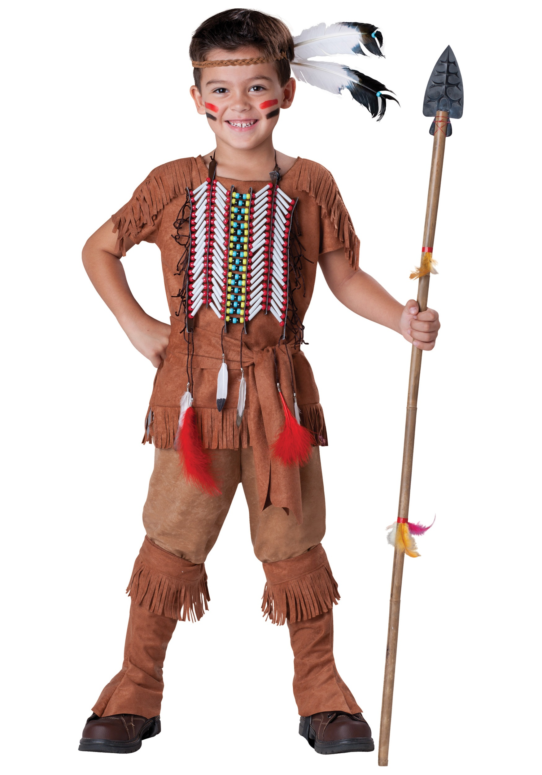 Child Indian Brave Costume  sc 1 st  Halloween Costumes & Native American Costumes - HalloweenCostumes.com
