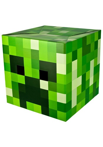 Minecraft Creeper Head By: Jinx for the 2015 Costume season.