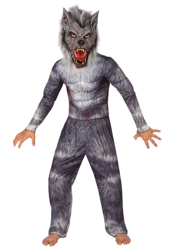 Click Here to buy Boys Werewolf Costume from HalloweenCostumes, USA Funds & Shipping