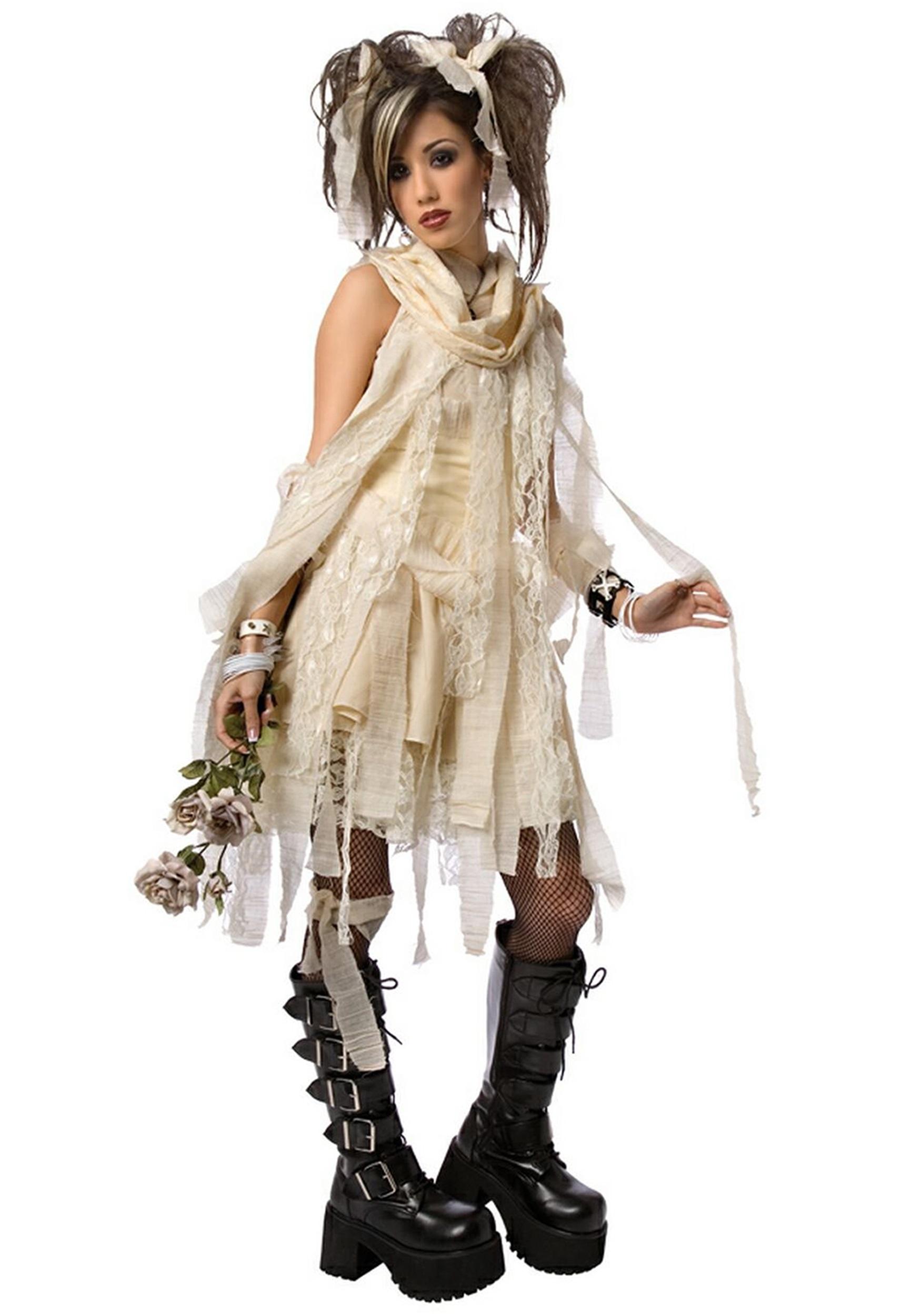 Easy Gothic Costumes Plus Size Gothic Mummy Costume
