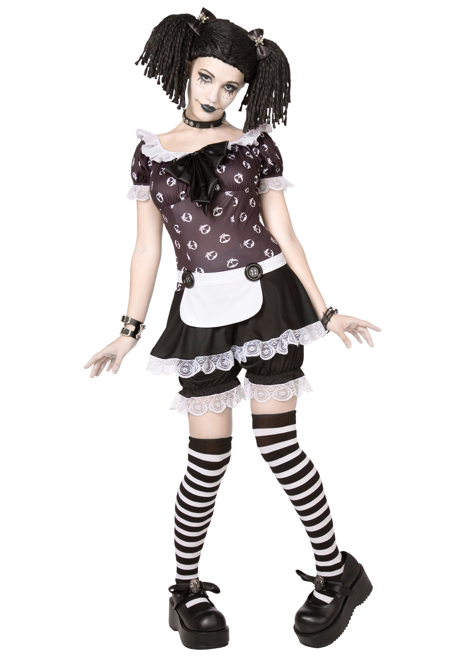 Easy Gothic Costumes Gothic Rag Doll Costume