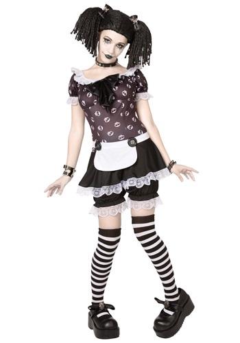 Image of Plus Size Gothic Rag Doll Costume 1X/2X 3X/4X