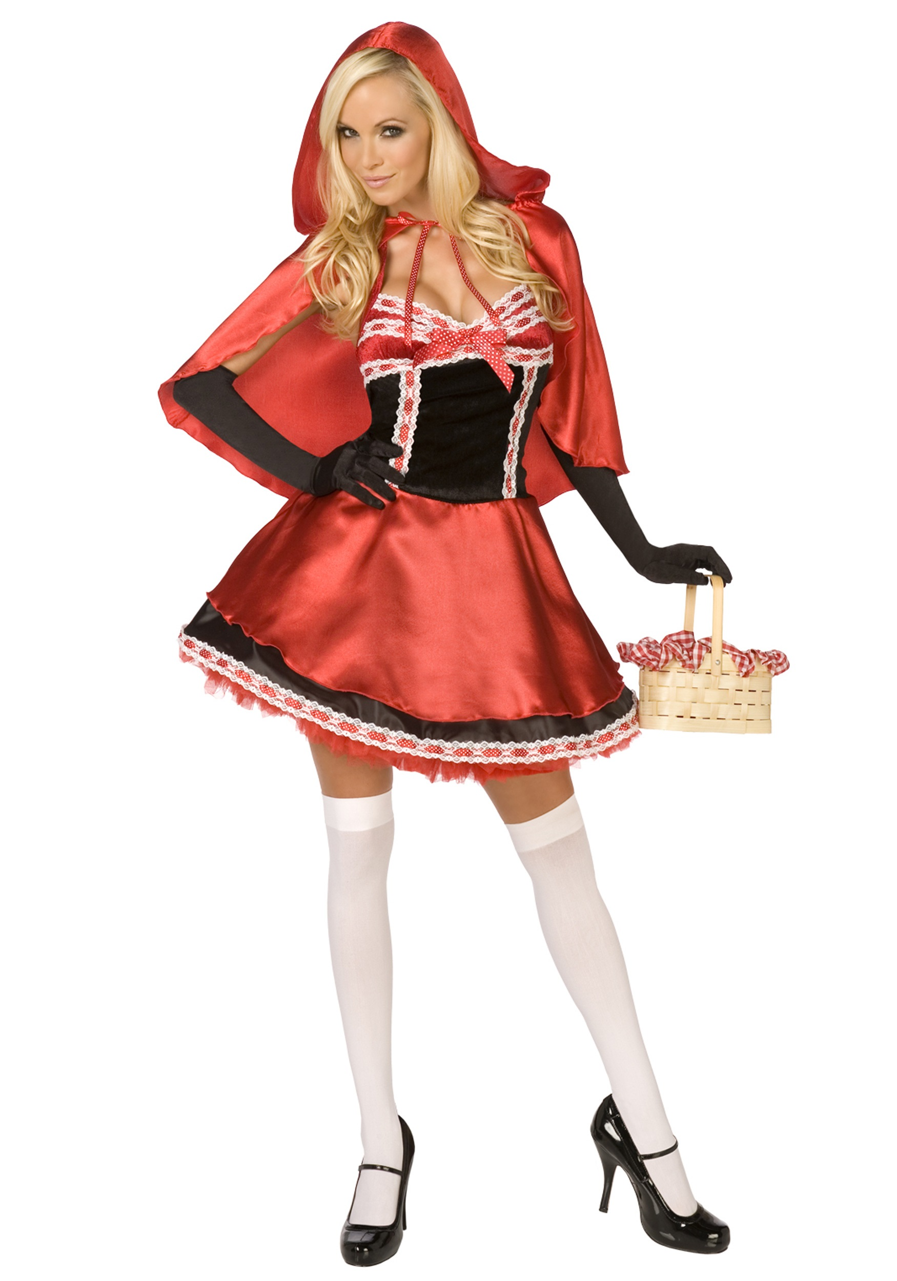 from Eddie red riding hood adult costume