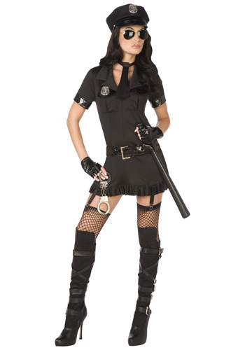 Click Here to buy Sexy Bad Cop Costume from HalloweenCostumes, USA Funds & Shipping