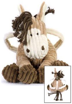 Corduroy Horse Handbag