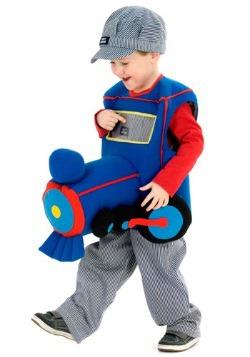 Plush Ride in Train Costume