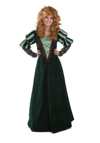 Image of Adult Courageous Forest Princess Costume