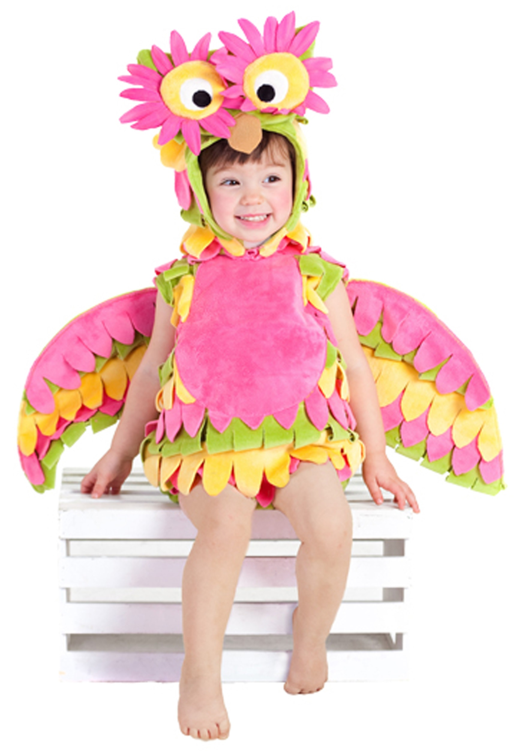 sc 1 st  Halloween Costumes & Little Colorful Owl Costume
