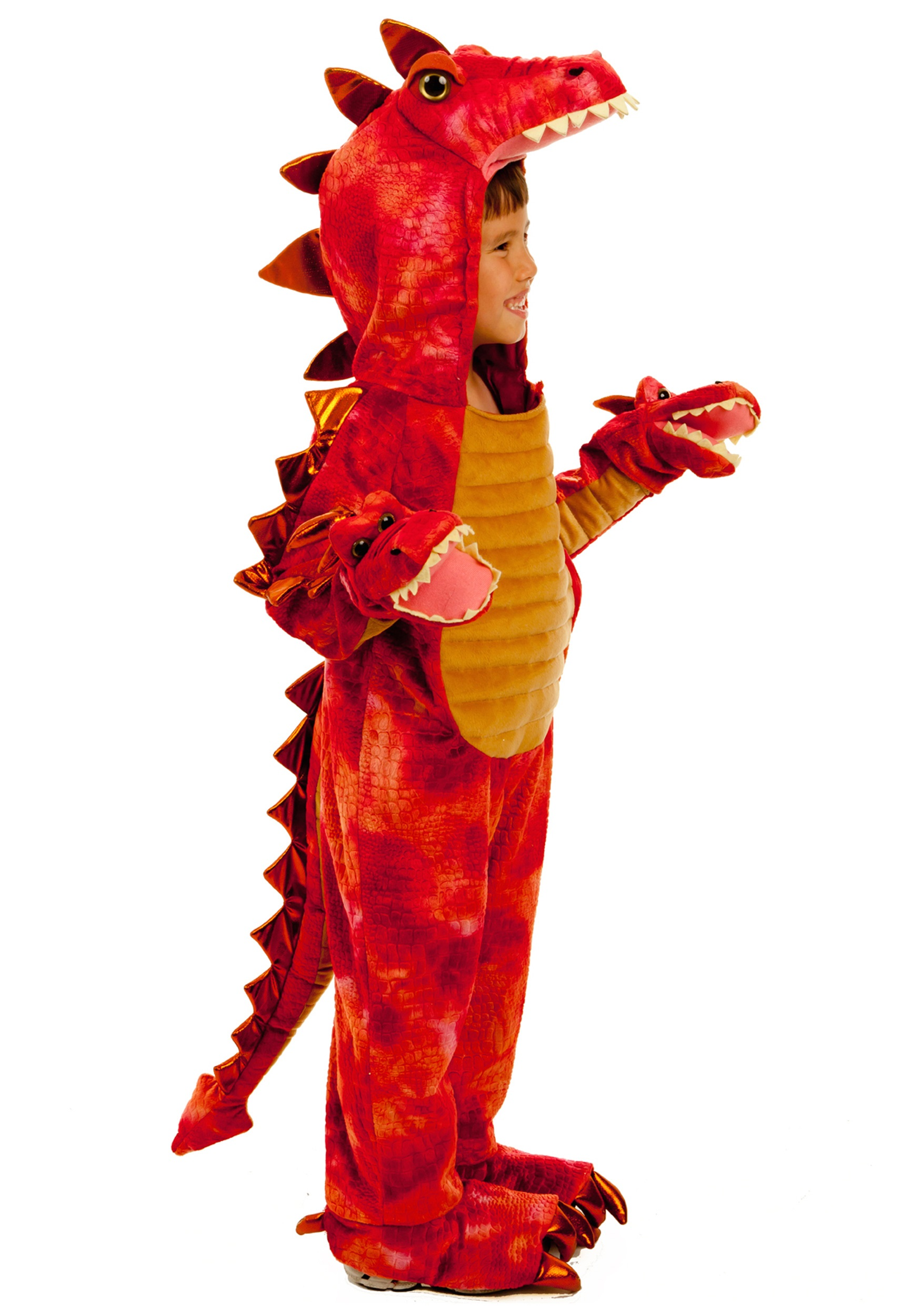 Hydra Dragon Pokemon Hydra Red Dragon Costume