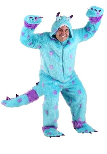 Click Here to buy Plus Size Sullivan the Monster Costume from HalloweenCostumes, USA Funds & Shipping