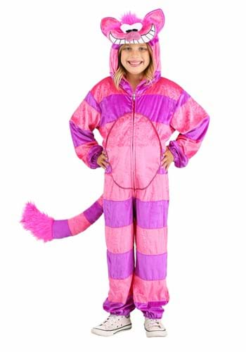Child Cheshire Cat Jumpsuit Costume