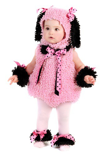 Click Here to buy Baby Pink Poodle Costume from HalloweenCostumes, USA Funds & Shipping