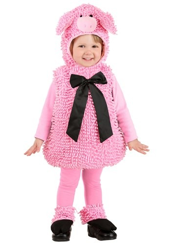 Click Here to buy Squiggly Pig Costume from HalloweenCostumes, USA Funds & Shipping