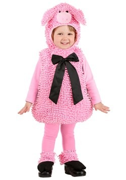 Squiggly Pig Costume New