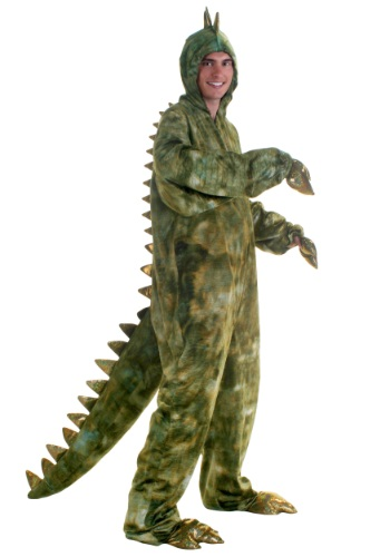 Click Here to buy Adult T-Rex Dinosaur Costume from HalloweenCostumes, USA Funds & Shipping