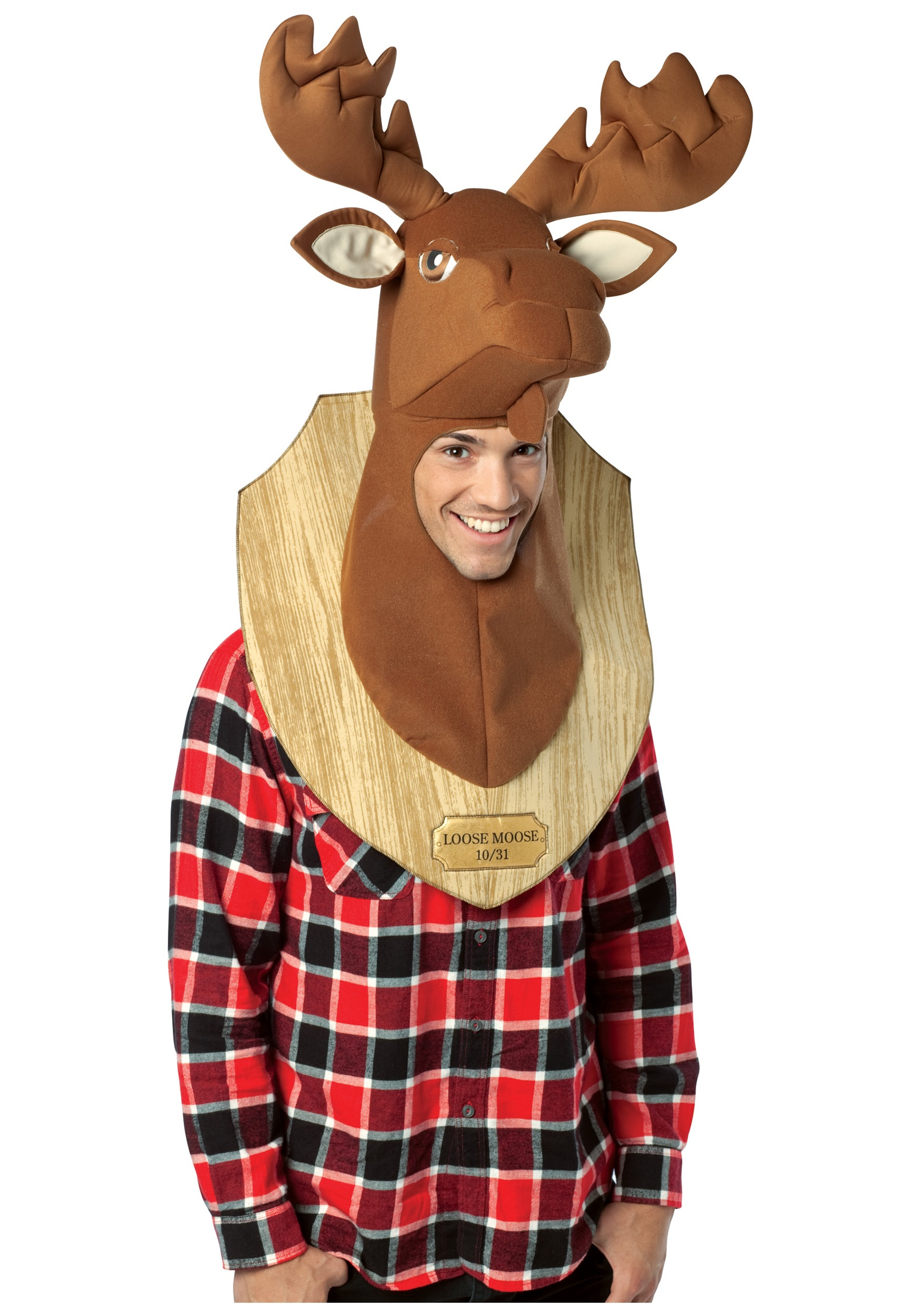 Trophy Head Loose Moose Costume  sc 1 st  Halloween Costumes & Canadian Mountie u0026 Lumberjack Costumes - HalloweenCostumes.com