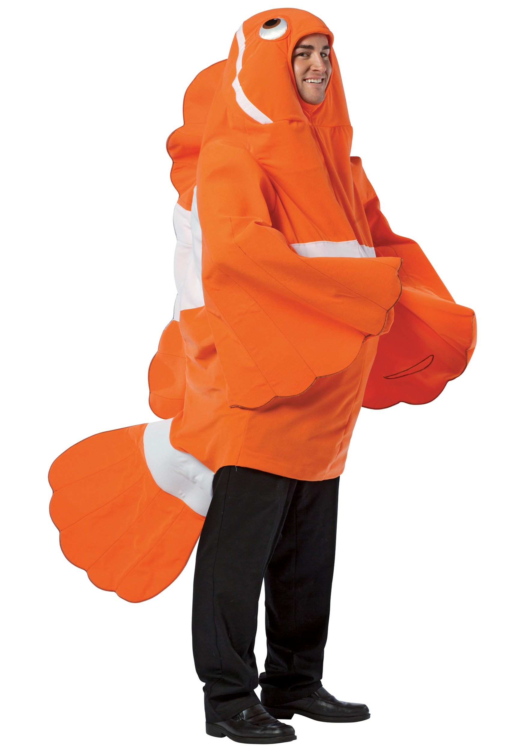 adult clownfish costume. Black Bedroom Furniture Sets. Home Design Ideas