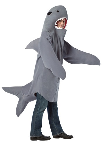 Click Here to buy Shark Costume from HalloweenCostumes, CDN Funds