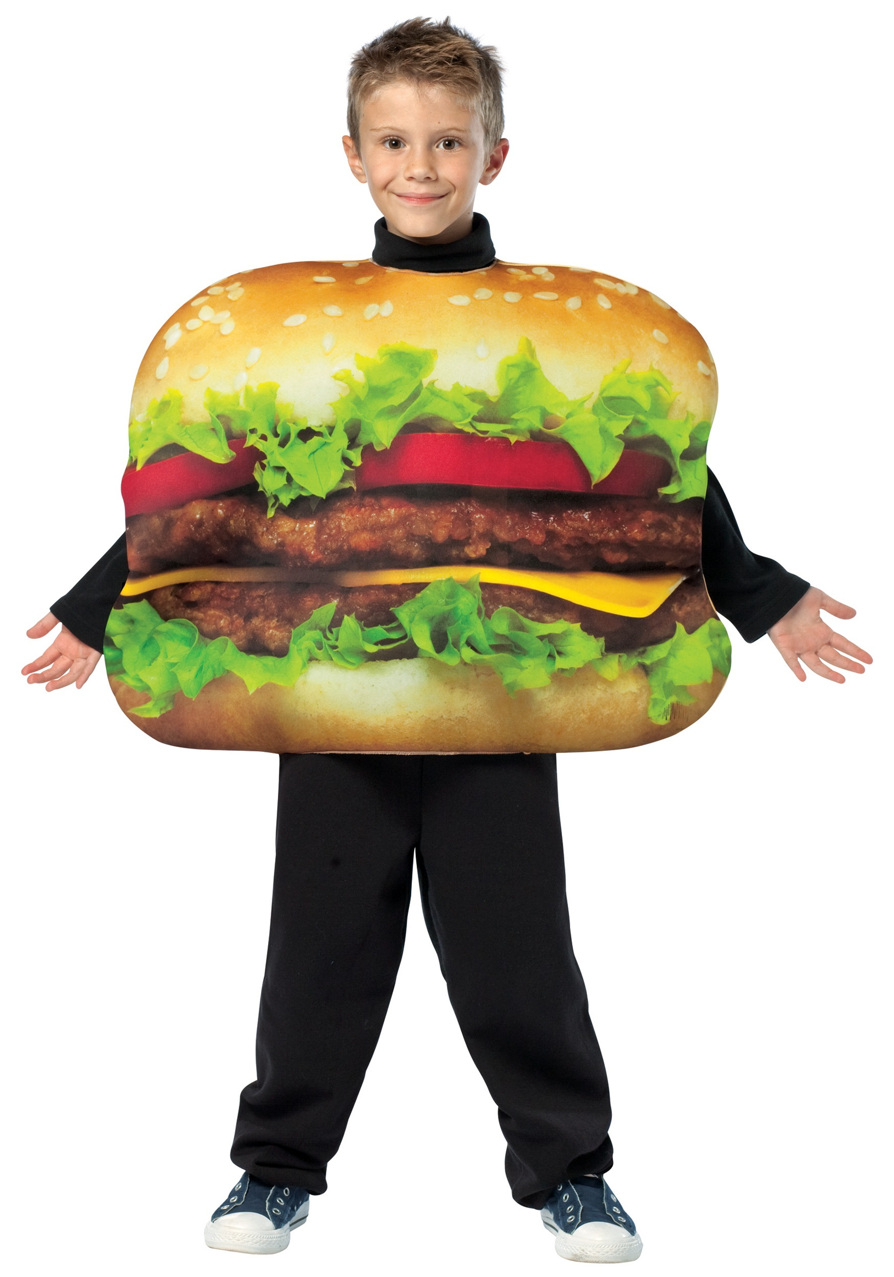 Child cheeseburger costume for Awesome halloween costumes for kids