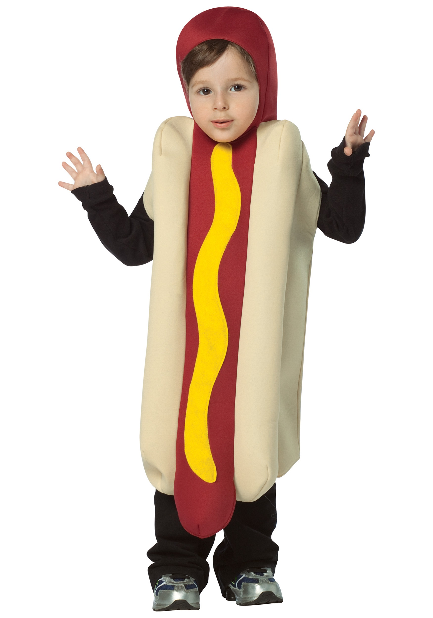 Toddler Hotdog Costume  sc 1 st  Halloween Costumes & Toddler Hotdog Costume - Food Costumes Funny Costumes