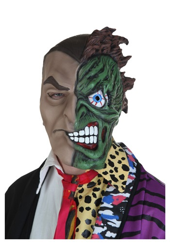2 Face Mask - Adult Two-Face Batman Masks