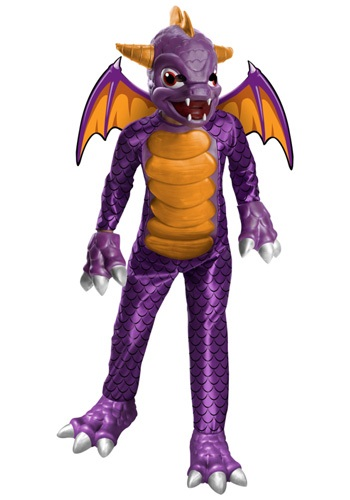 Click Here to buy Deluxe Skylander Spyro Costume from HalloweenCostumes, CDN Funds