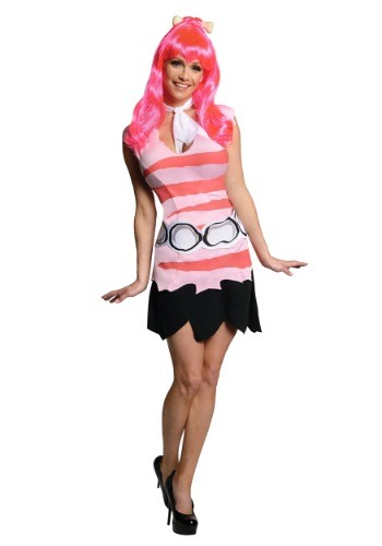 Click Here to buy Adult Pebbles Costume from HalloweenCostumes, CDN Funds