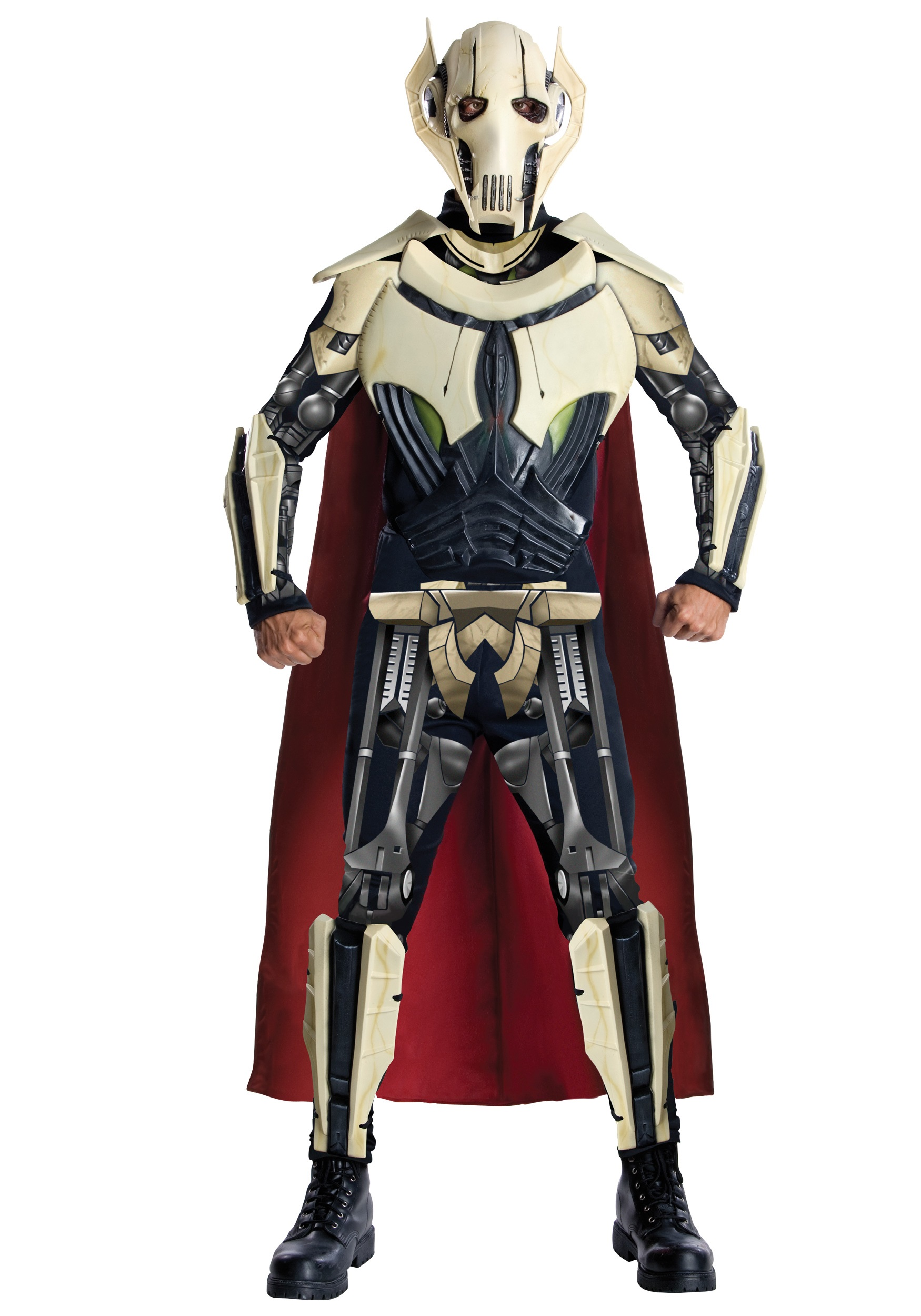 sc 1 st  Halloween Costumes & Adult Deluxe General Grievous Costume