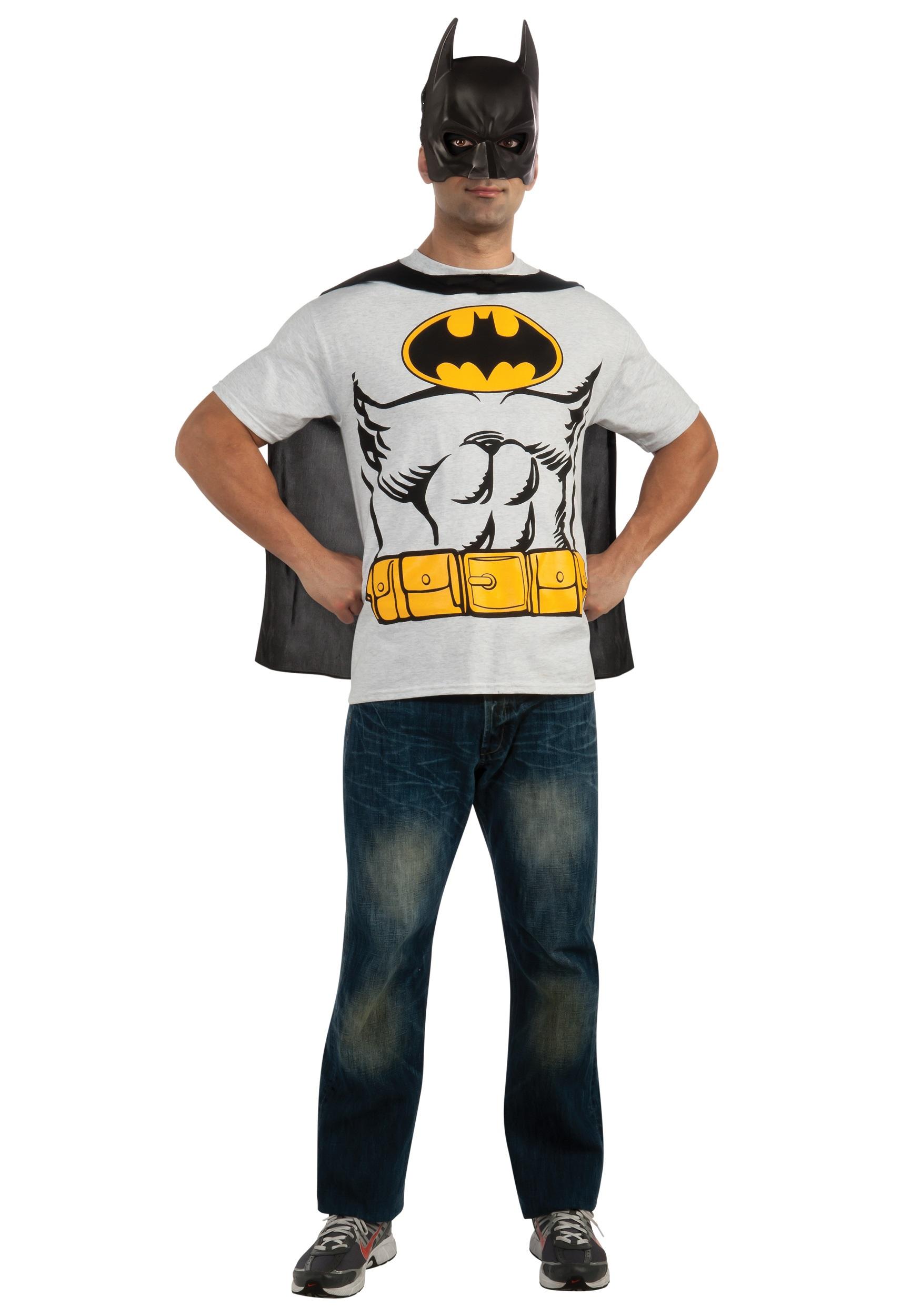 Batman clothing for adults