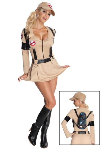 Click Here to buy Sexy Secret Wishes Ghostbuster Costume from HalloweenCostumes, CDN Funds