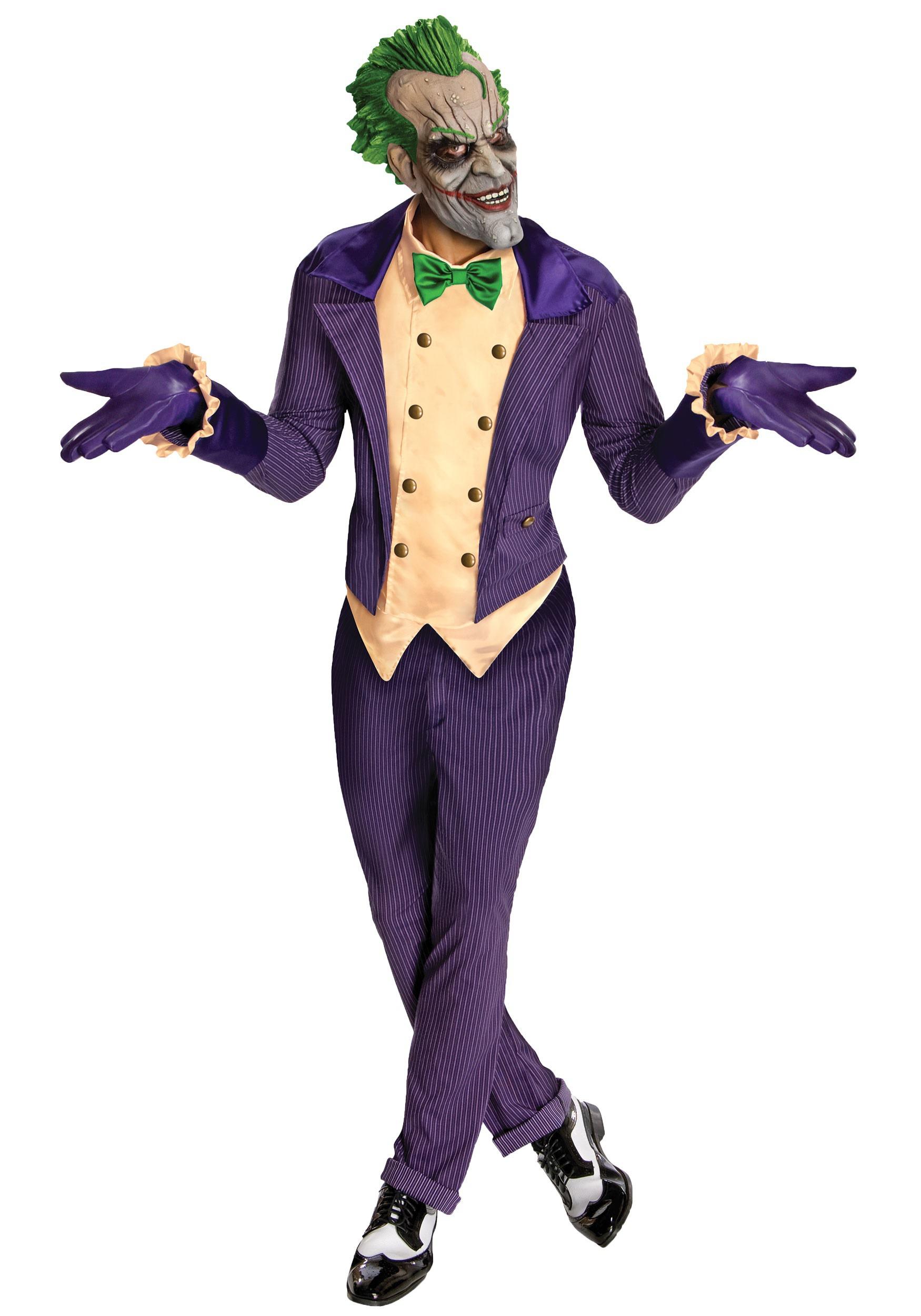 Arkham City The Joker Costume  sc 1 st  Halloween Costumes & Joker Costumes - HalloweenCostumes.com