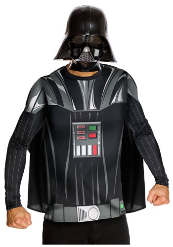 Click Here to buy Adult Darth Vader Top and Mask from HalloweenCostumes, USA Funds & Shipping