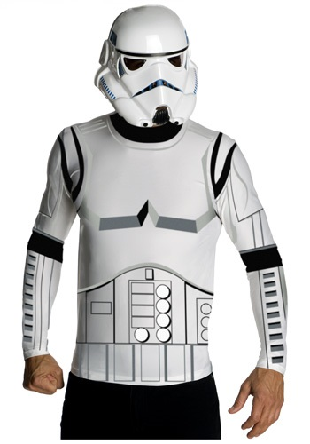Adult Stormtrooper Top and Mask Costume