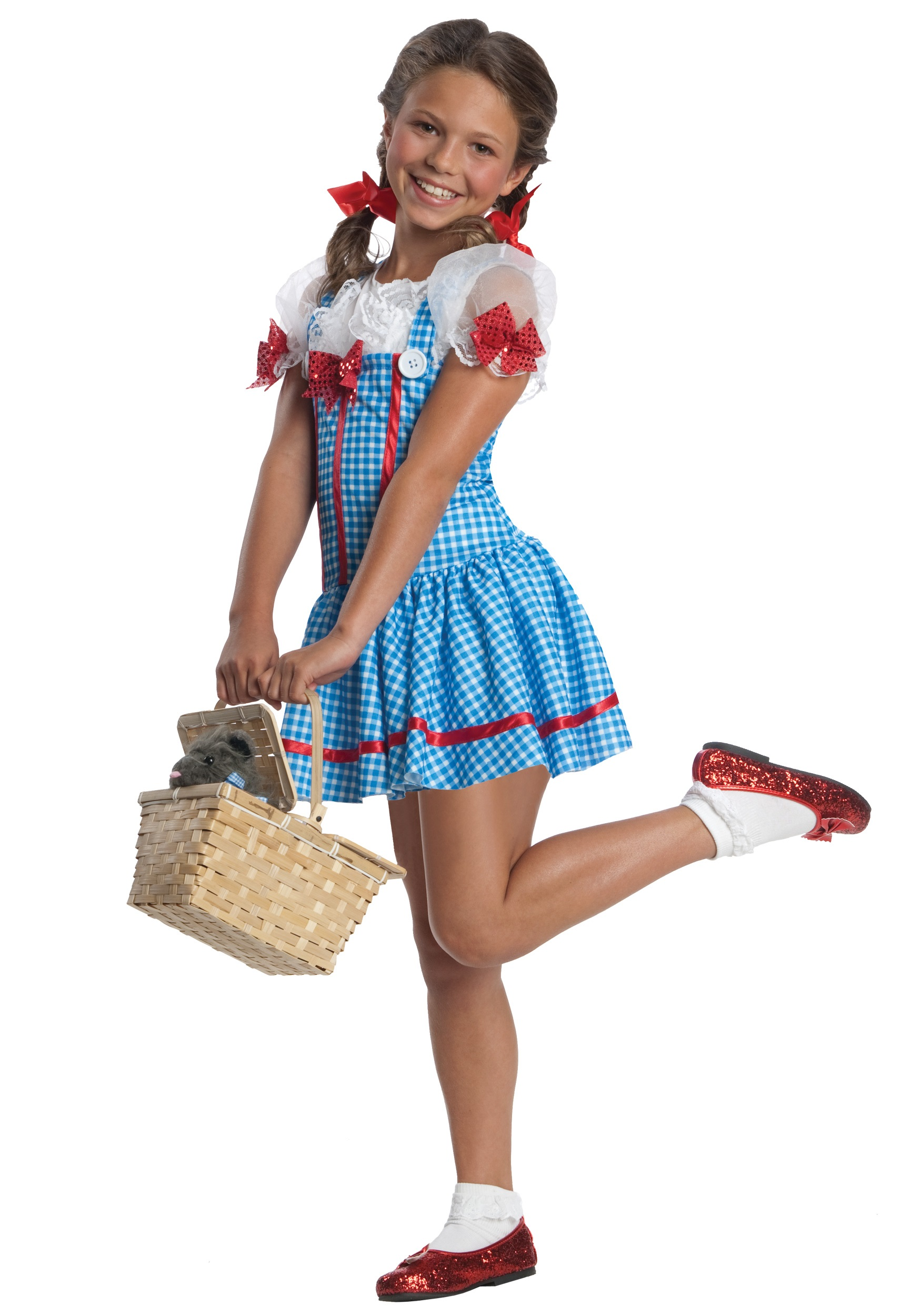 Girls dorothy costume Homemade halloween costumes for 10 year olds