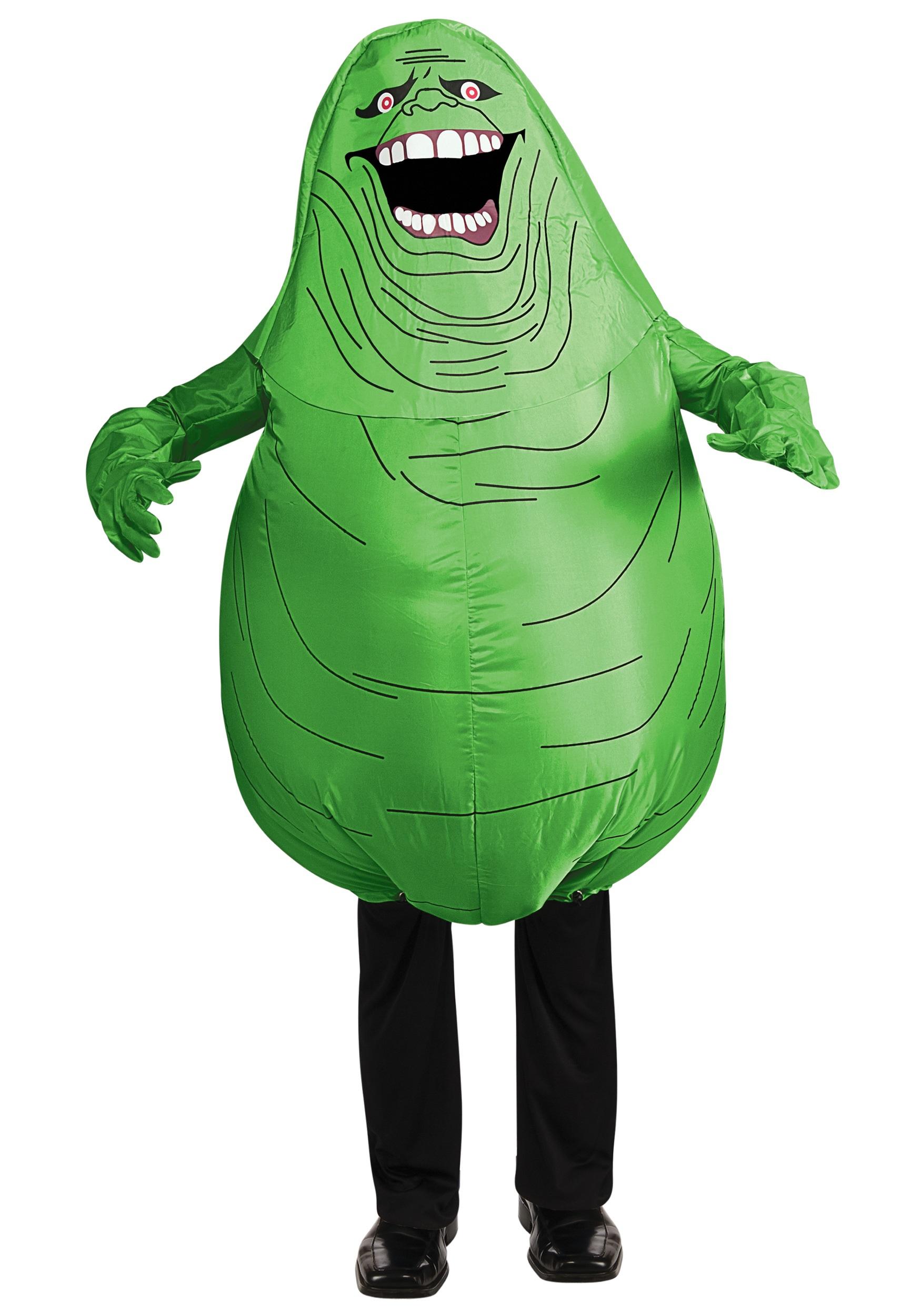 Kids Inflatable Slimer Costume .