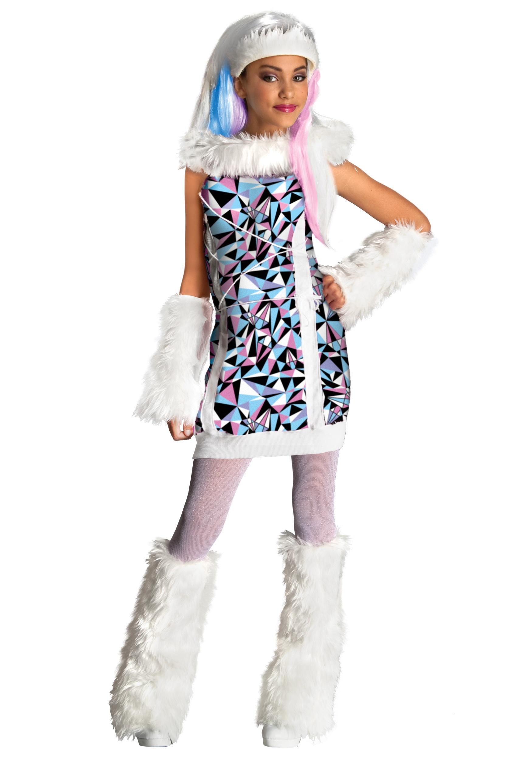 Girl's Abbey Bominable Costume RU881362