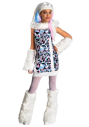 Kids Abbey Bominable Costume - Girls Monster High Costumes