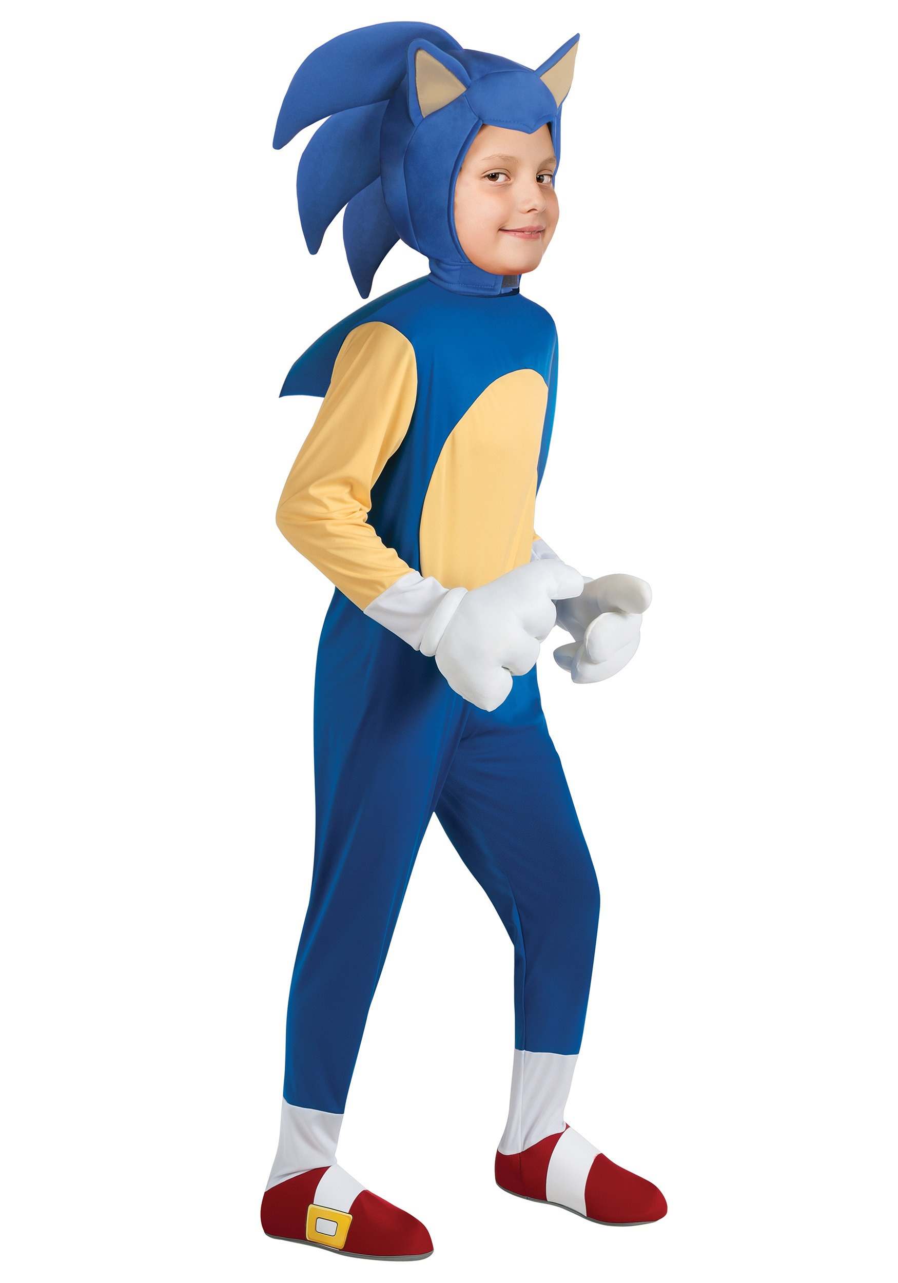 sc 1 st  Halloween Costumes & Child Deluxe Sonic Costume