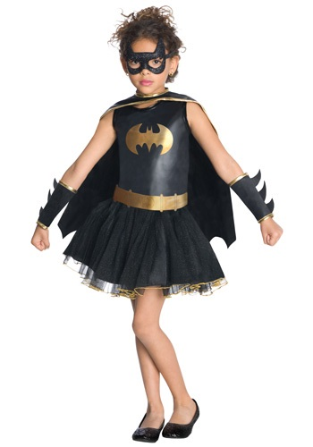 Click Here to buy Kids Batgirl Tutu Costume from HalloweenCostumes, USA Funds & Shipping