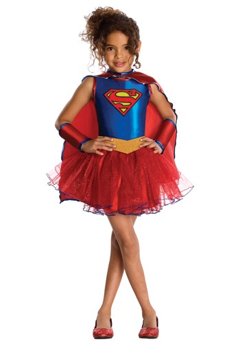 Click Here to buy Kids Supergirl Tutu Costume from HalloweenCostumes, USA Funds & Shipping