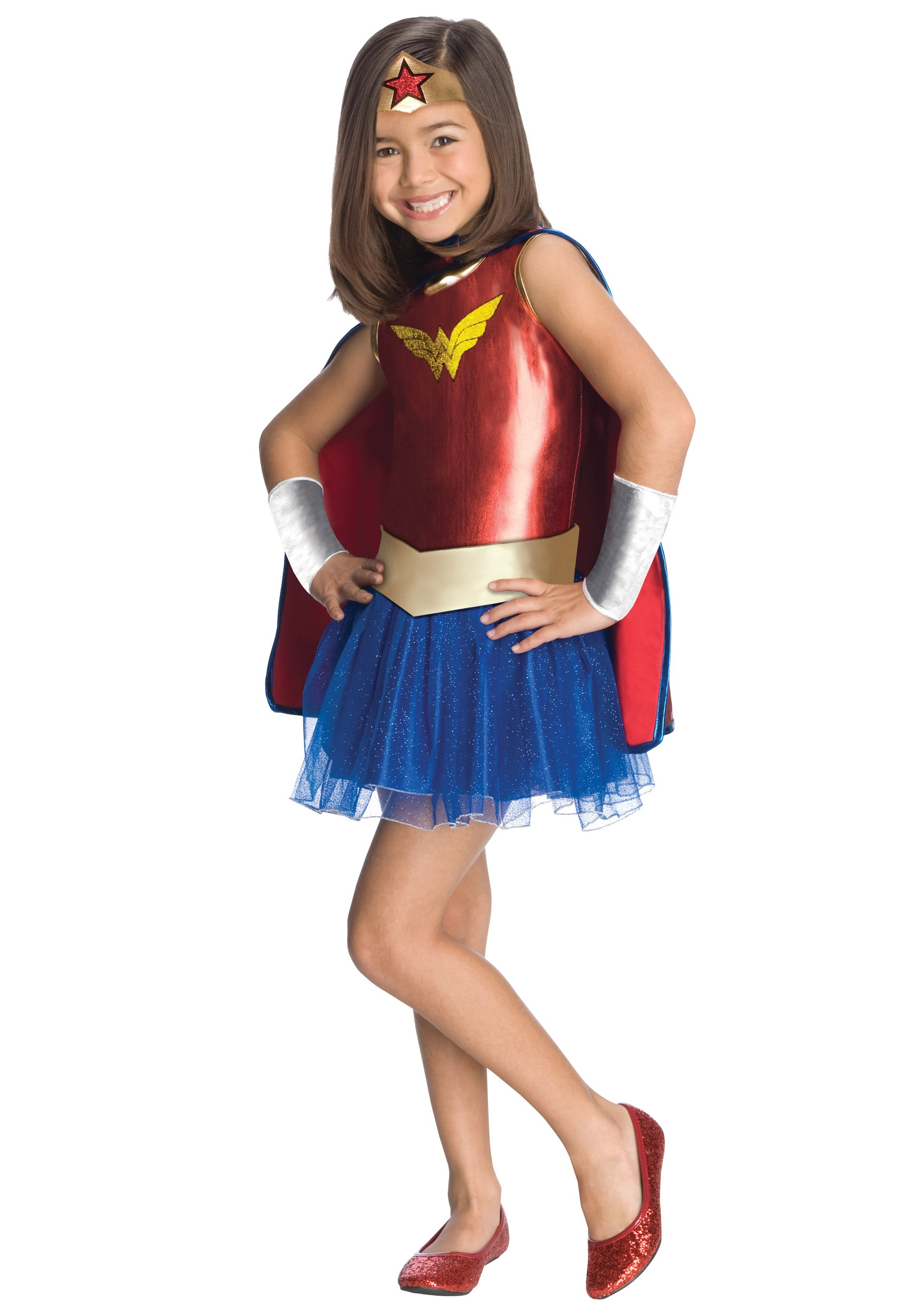 Kids Wonder Woman Tutu Costume-2569