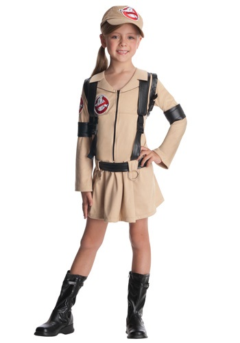 Click Here to buy Girls Classic Ghostbusters Costume from HalloweenCostumes, USA Funds & Shipping