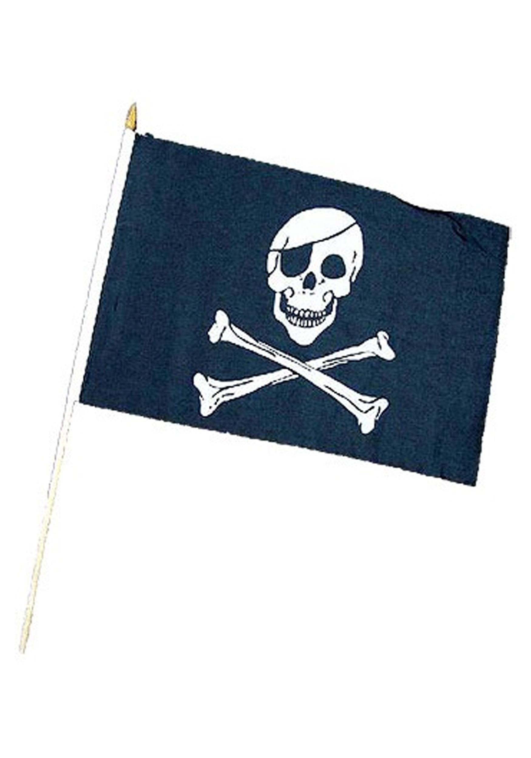 skull crossbones pirate flag