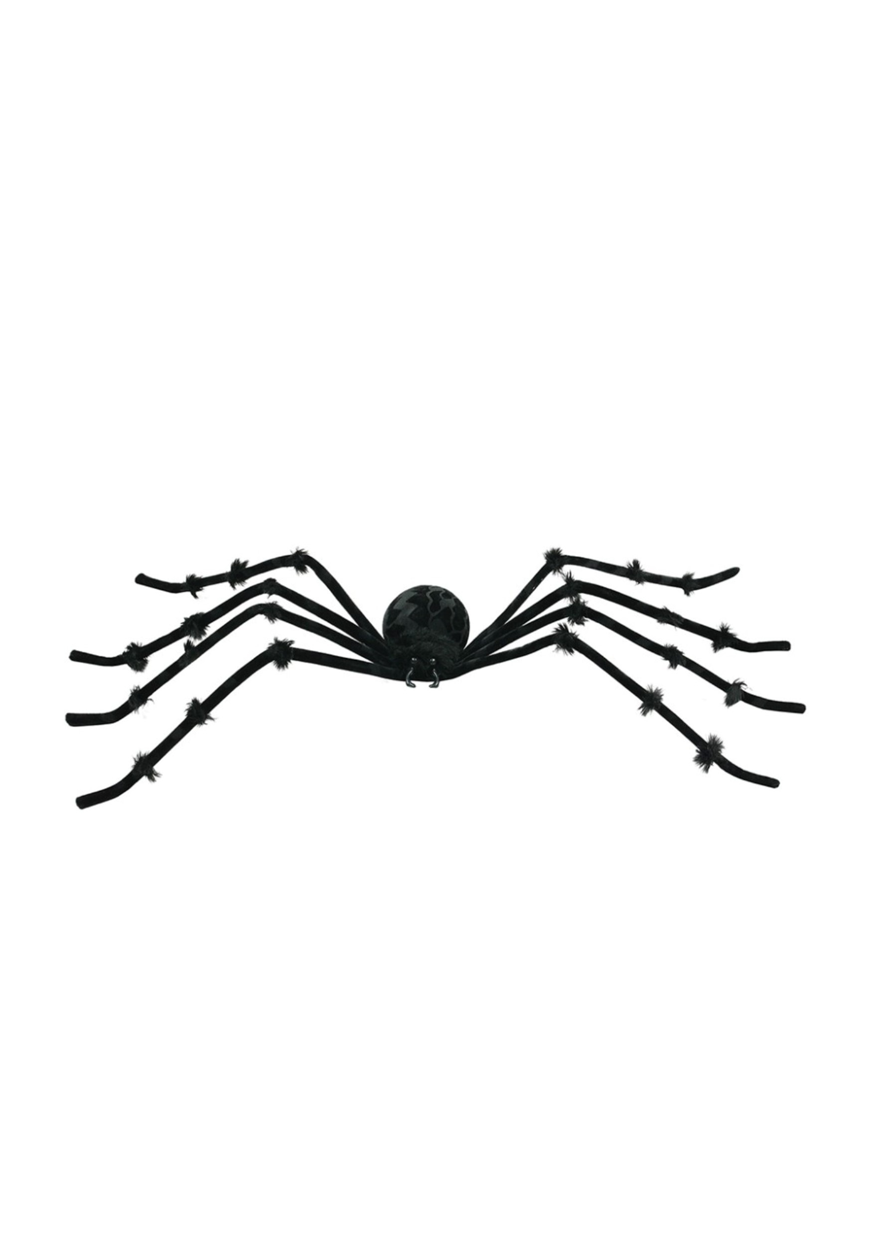 Halloween spider decorations - Black 50 Inch Posable Spider Spider Halloween Decorations