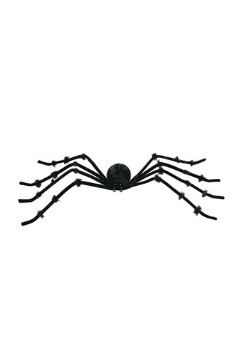 Black 50 inch Poseable Spider - Spider Halloween Decorations
