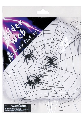 Spider Web with Spiders   Spider Halloween Decorations By: Seasons (HK) Ltd. for the 2015 Costume season.