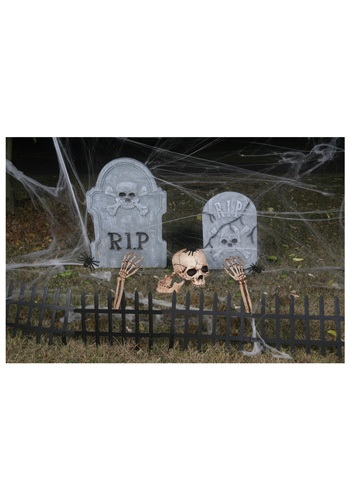 Cemetery Kit   Scary Graveyard Outdoor Decorations By: Seasons (HK) Ltd. for the 2015 Costume season.